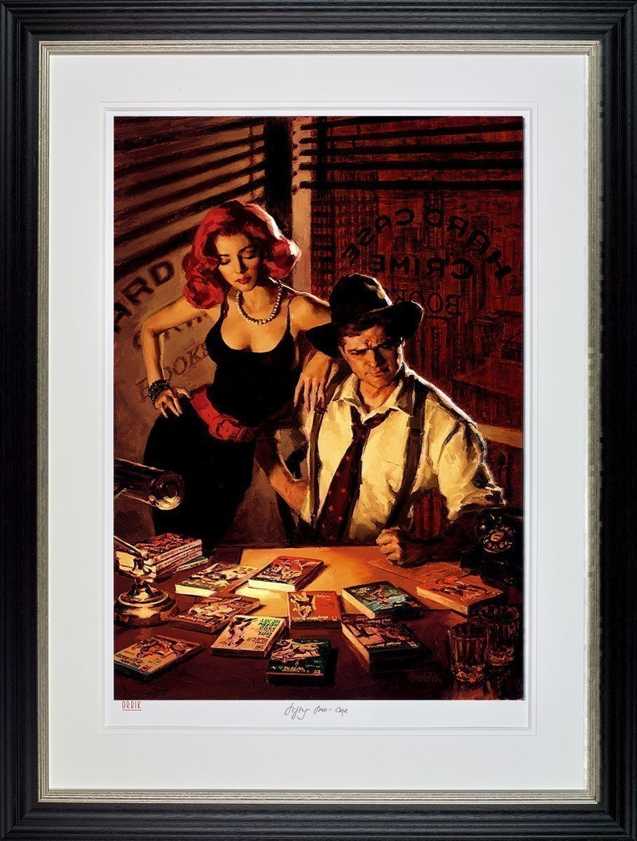 Fifty -To - One by Glen Orbik - Limited Edition on Paper sized 23x34 inches. Available from Whitewall Galleries